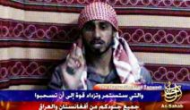 "This image released by IntelCenter on Friday July 7, 2006 purportedly shows Shehzad Tanweer, one of the suicide bombers who struck London's transit system a year ago warning in a video broadcast Thursday July 6, 2006 that the attacks were only the beginning of a campaign of terror. The logo and name As-Sahab, bottom right are al-Qaida's media production wing. IntelCenter is a private contractor working for intelligence agencies. (AP Photo/via IntelCenter) ** MANDATORY CREDIT: INTELCENTER; NO SALES; EDS NOTE: ""INTELCENTER"" AT RIGHT TOP CORNER ADDED BY SOURCE **"